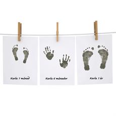 Fodaftryk & håndaftryk. Køb aftryk til baby og gips til gravid hos os