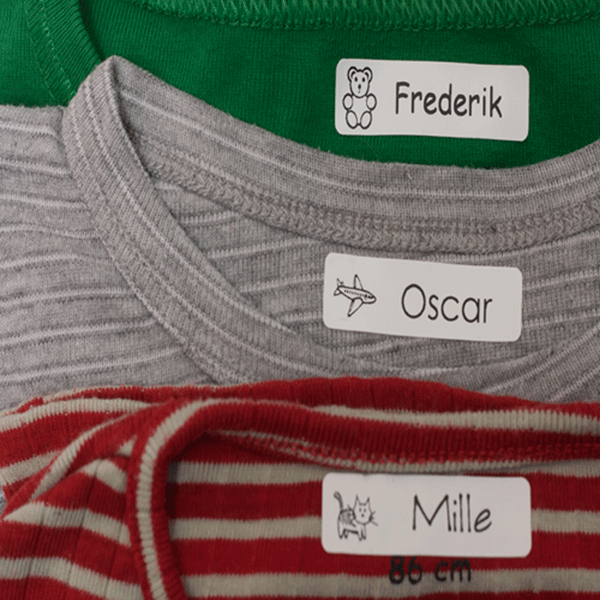 tøj med navn